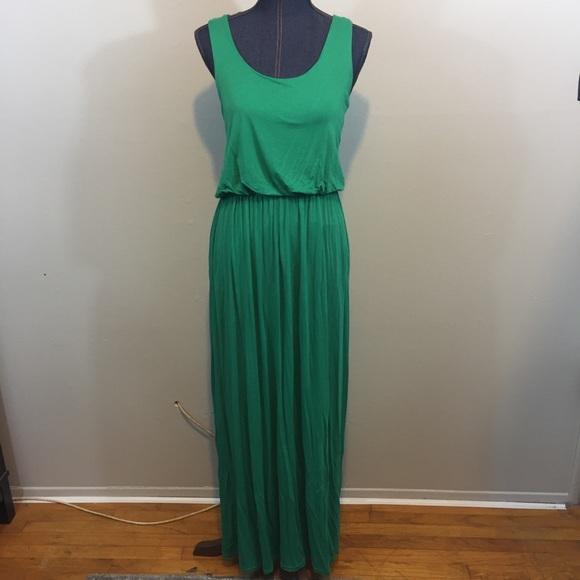 e1d58fe3c2cf8 Boohoo Dresses | Green Maxi Dress | Poshmark